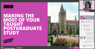 "image of online resource ""Make the most of your postgraduate taught qualification"" - links to online resource, opens in new tab"